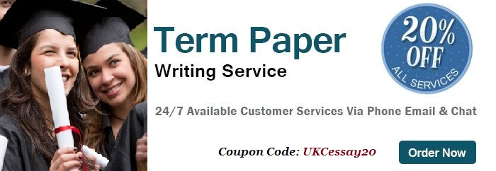Custom term paper writing service